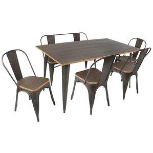 Claremont 6 Piece Dining Set by Trent Austin Design