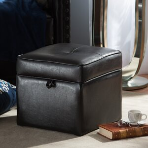Amie Cube Ottoman by Zipcode Design