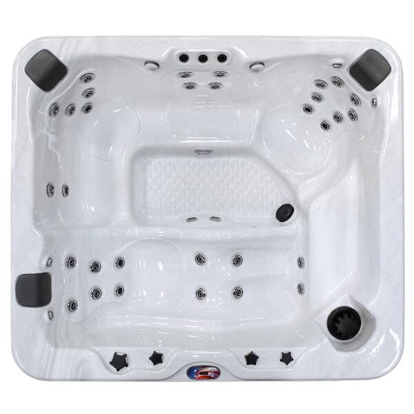 6-Person 37-Jet Spa with Bluetooth Stereo System by American Spas
