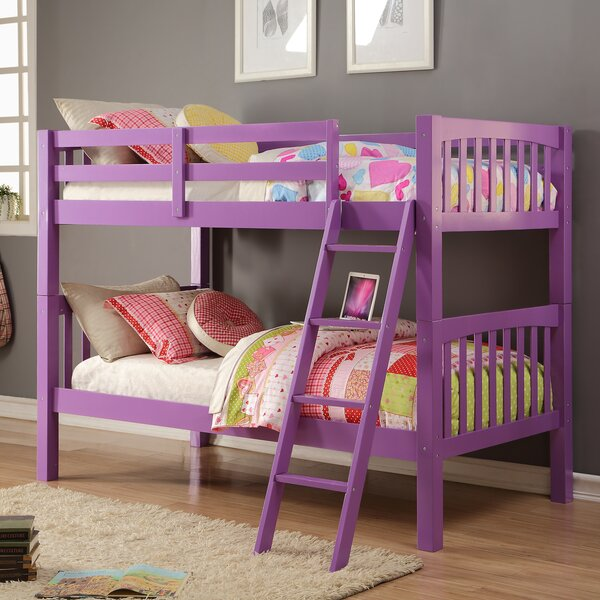 Ippolito Twin over Twin Bunk Bed by Zoomie Kids