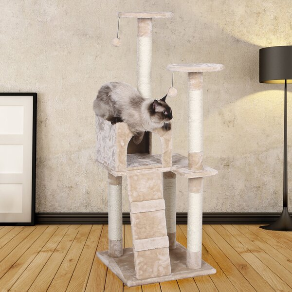 Levan 51 Cat Tree by Tucker Murphy Pet