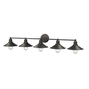 Deals Cromartie 5-Light Vanity Light By Breakwater Bay