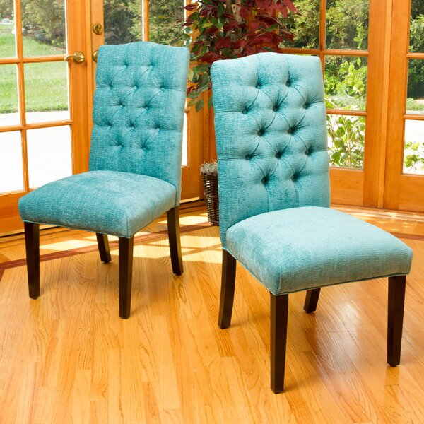 Alexis Upholstered Dining Chair (Set of 2) by Latitude Run