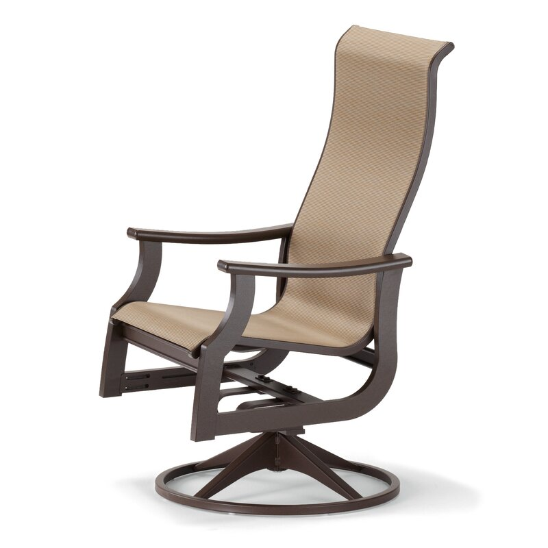 Telescope Casual St Catherine Swivel Patio Dining Chair