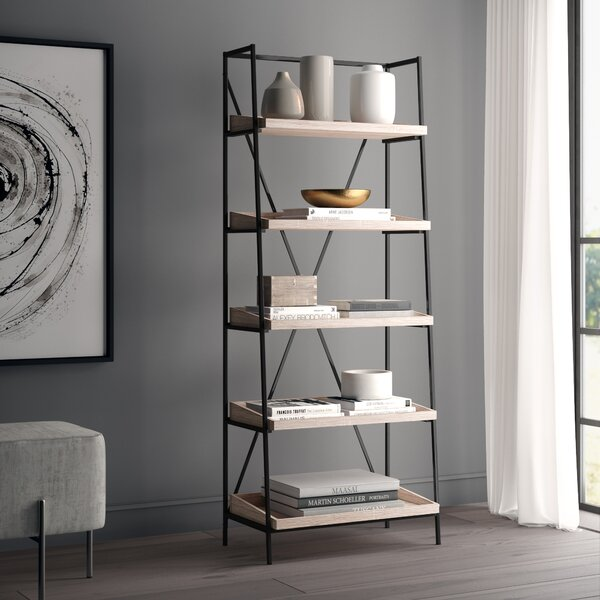 Sherry Mid Century Etagere Bookcase by Greyleigh