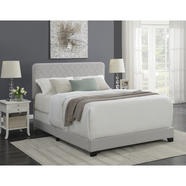Glenmere Upholstered Standard Bed by Brayden Studio