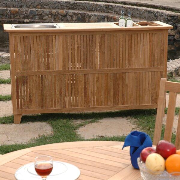 Safari Bar Table by Anderson Teak