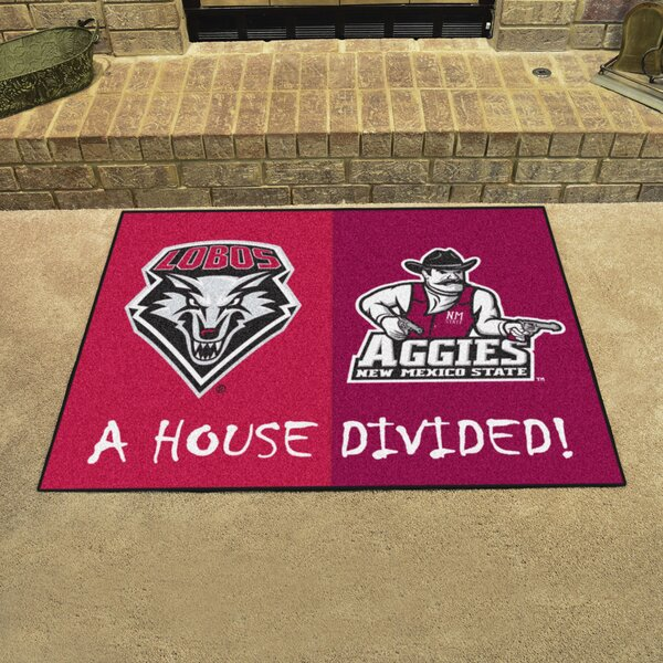 House Divided - New Mexico / New Mexico State Doormat by FANMATS