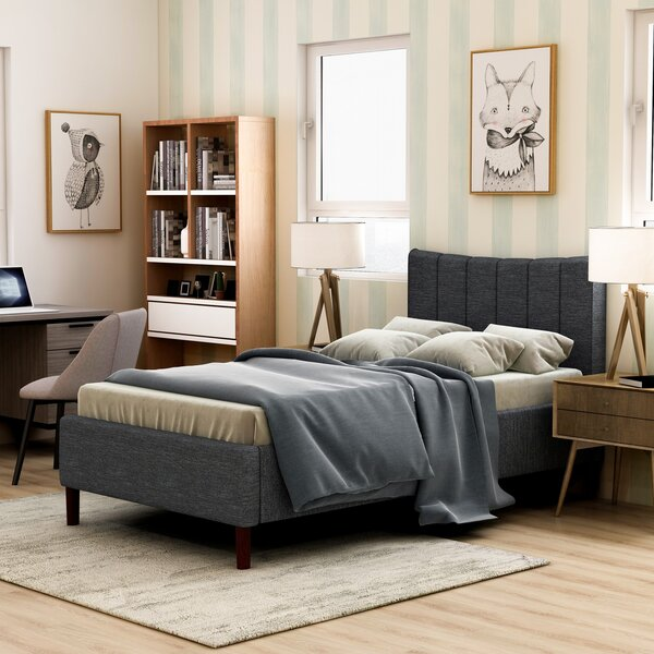 Harwinton Upholstered Platform Bed by Wrought Studio