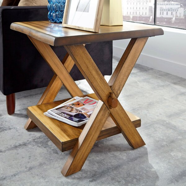 Amirah End Table by Millwood Pines Millwood Pines