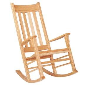 classic oak kids rocking chair