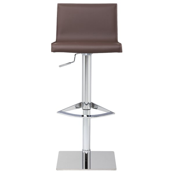 Colter Adjustable Height Swivel Bar Stool by Nuevo
