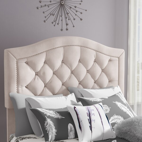 Gossman Upholstered Panel Headboard by Darby Home
