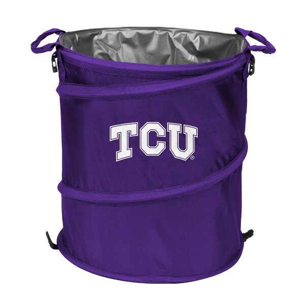 NCAA TCU Collapsible 3-in-1 Cooler by Logo Brands