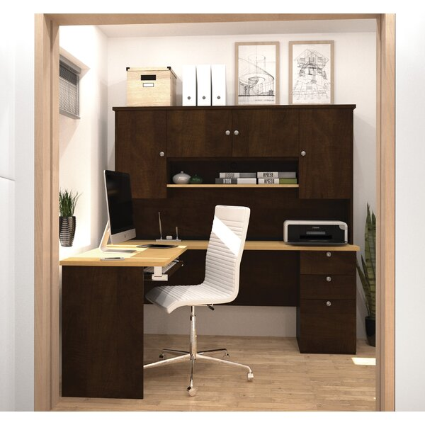 Independence Executive Desk with Hutch by Red Barrel Studio