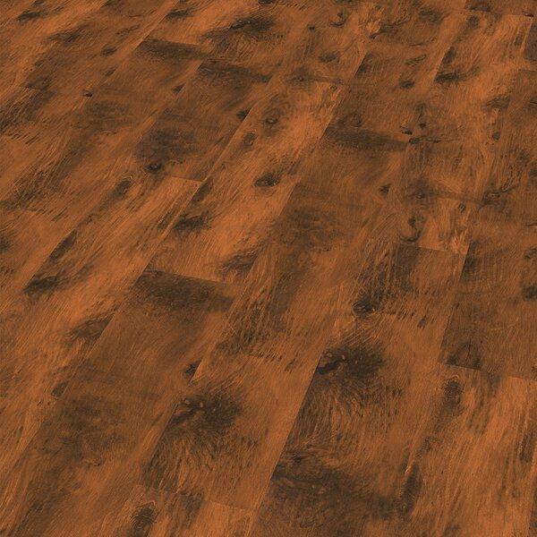 7 x 47 x 8mm Laminate Flooring in Brown by ELESGO Floor USA