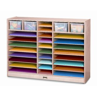 Best Paper Center 30 Compartment Cubby with Bins ByJonti-Craft