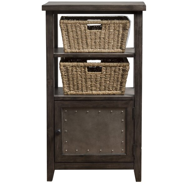 Sceinnker Rustic 1 Door Accent Cabinet by Gracie Oaks
