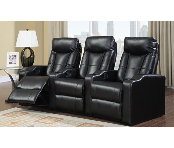 Camden Home Theater Seating (Row of 3) by Latitude Run