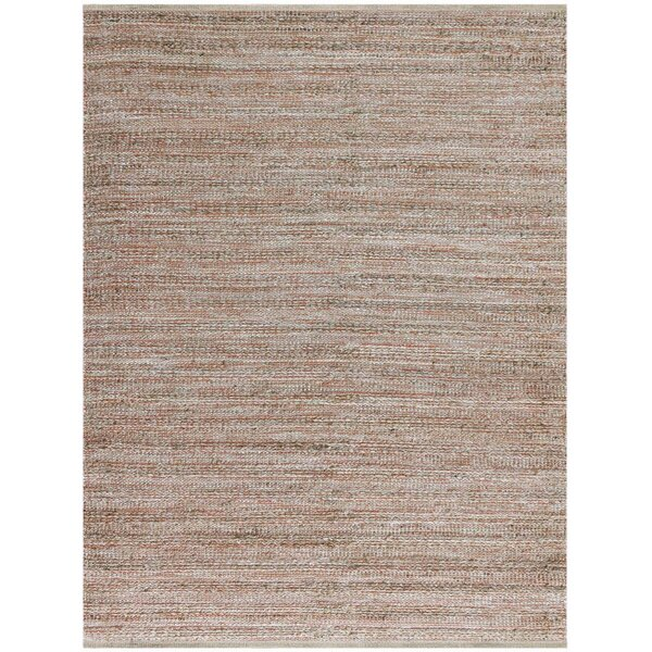 Lantz Rectangle Flat-Weave Brown Area Rug by Laurel Foundry Modern Farmhouse