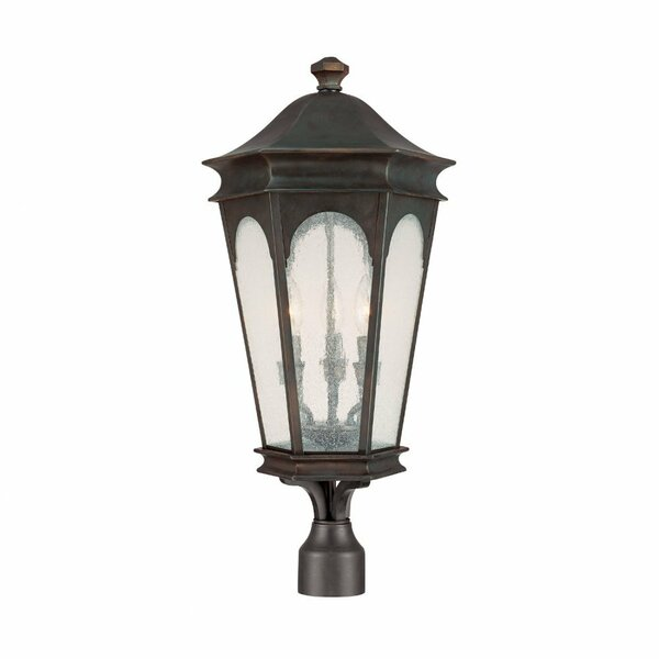 Inman Park Outdoor 3-Light Lantern Head by Capital Lighting