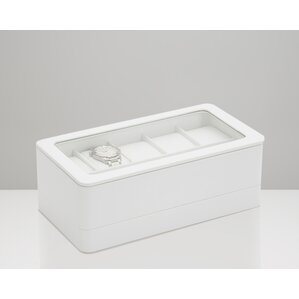 Smart Storage 6 Compartment Watch Box by WOLF