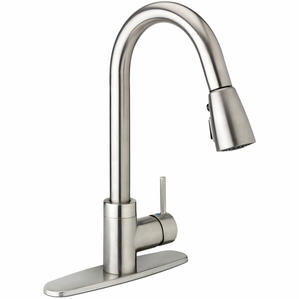 Belanger Pull Down Single Handle Kitchen Faucet by Keeney Manufacturing Company