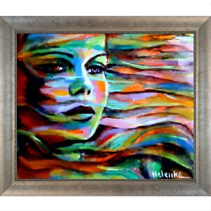 Artisbe Sheltered By The Wind by Helena Wierzbicki Framed Painting Print by Tori Home