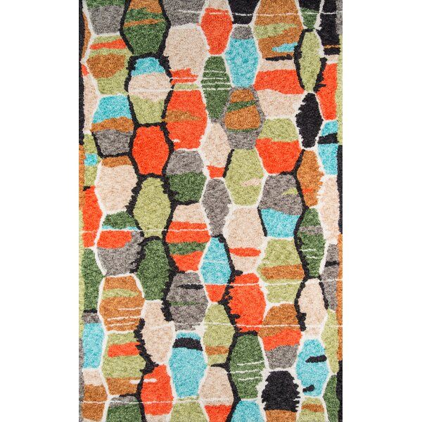 Bungalow Tiles Hand-Woven Area Rug by Novogratz