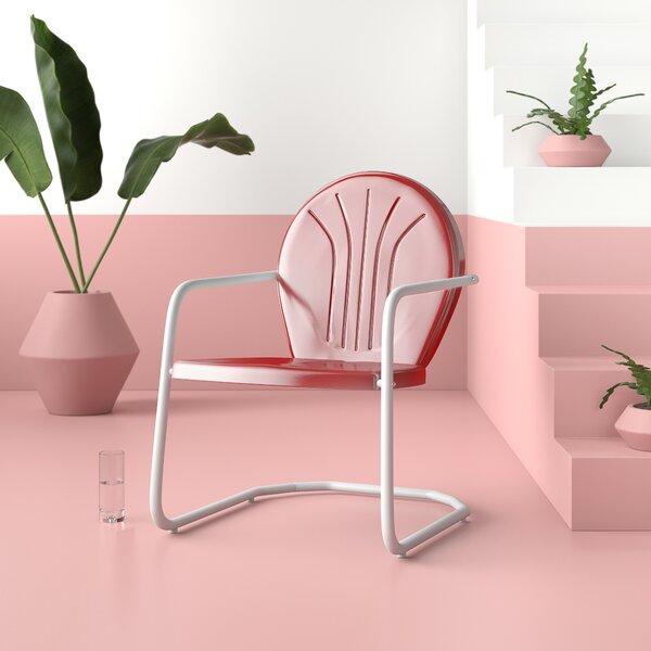 Karim Patio Dining Chair By Wrought Studio