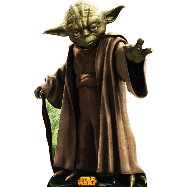 Star Wars Yoda Cardboard Standup by Advanced Graphics