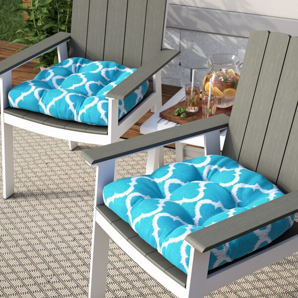 Bushnell Indoor/Outdoor Dining Chair Cushion (Set of 2) by Alcott Hill