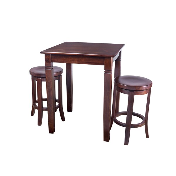 Easley 3 Piece Pub Table Set by Darby Home Co