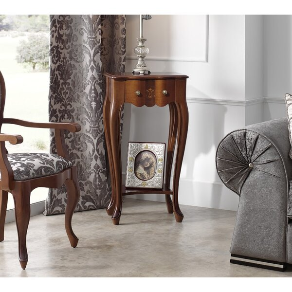 Royce End Table With Storage By Canora Grey
