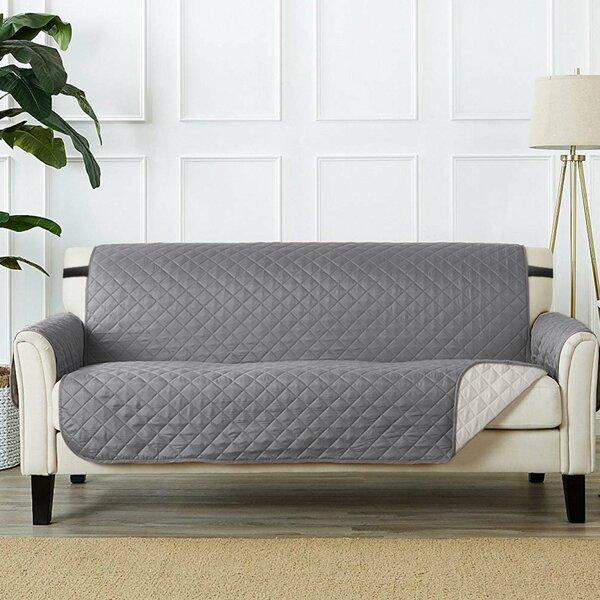 T-Cushion Sofa Slipcover by Winston Porter