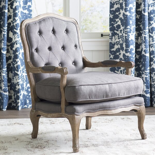 Eleanor 25.1-inch Armchair by Feminine French Country Feminine French Country