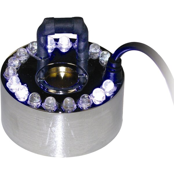 1 Jet Pond Fogger with 18 LED Light with Transformer by Alpine