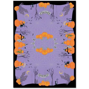 Happy Hauntings Tablecloth by The Holiday Aisle