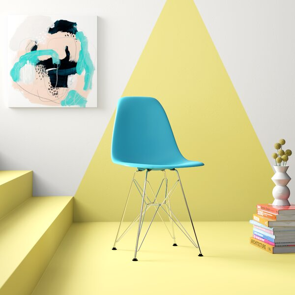 Warrick Plastic Side Chair by Hashtag Home Hashtag Home