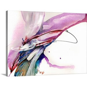 'Impulse' Painting Print on Wrapped Canvas by Mercury Row