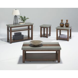 Nikole Coffee Table Set Union Rustic