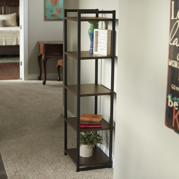 Stoddard 5 Etagere Bookcase by Gracie Oaks