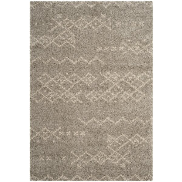 Amicus Brown Area Rug by Wrought Studio