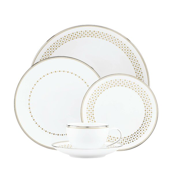 Richmont Road Bone China 5 Piece Place Setting, Service for 1 by kate spade new york