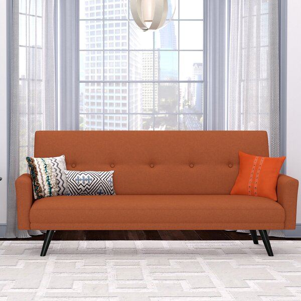 Westbrooks Click Clack Futon Convertible Sofa by G