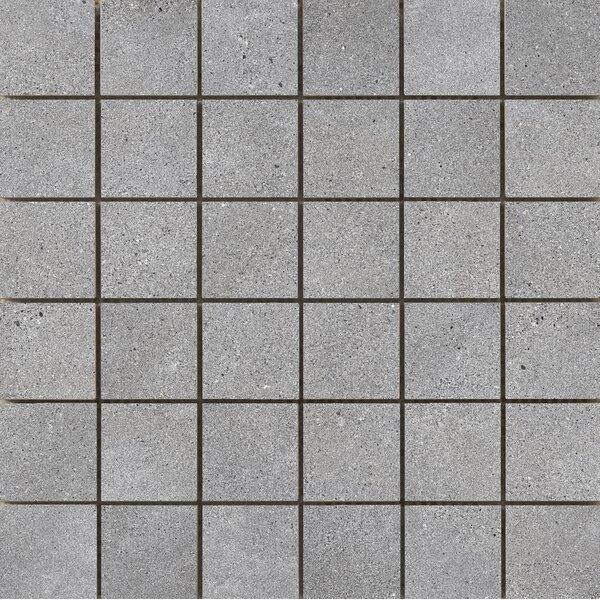 Alpha 2 x 2 Ceramic Mosaic Tile in Gray by Emser Tile