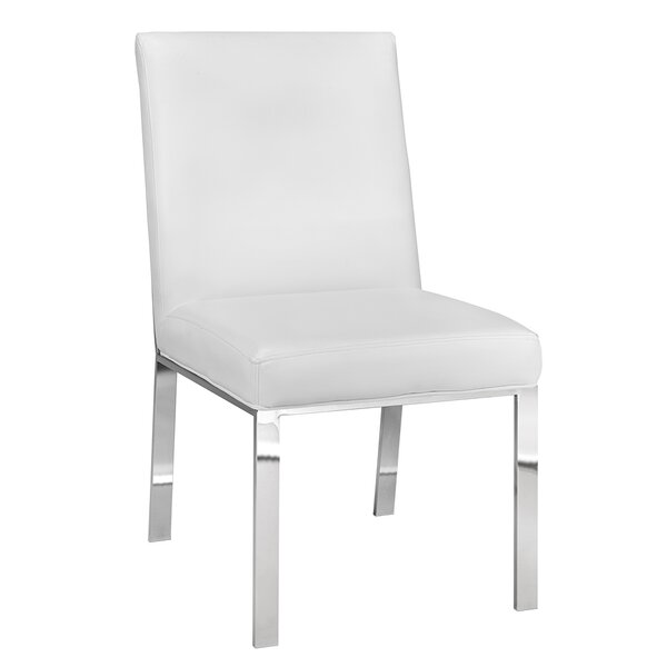 Fresh Almodovar Modern Premium Upholstered Dining Chair By Everly Quinn Great price