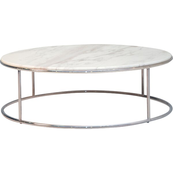 Elysee Marble Coffee Table by Mobital