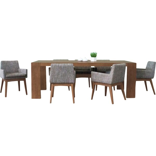 Bohostice 7 Piece Dining Set by Latitude Run