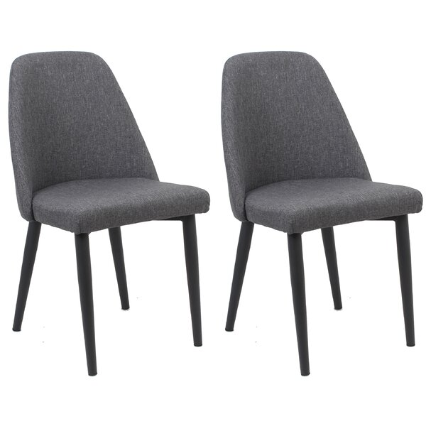 Goggin Upholstered Dining Chair (Set of 2) by Wrought Studio